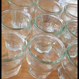 プリン容器×9個 プリンカップ 製菓 ガラス容器 空き瓶(容器)