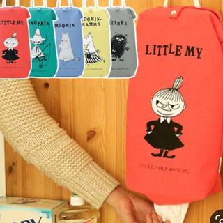 リトルミー(Little Me)のムーミン  レジ袋ストッカー リトルミィ(収納/キッチン雑貨)