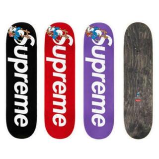 シュプリーム(Supreme)のsupreme スマーフ スケートボードセット(スケートボード)