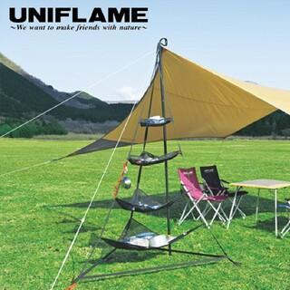 ユニフレーム(UNIFLAME)のUNIFLAME Revo ラック ユニフレーム タープ キャンプ(テント/タープ)