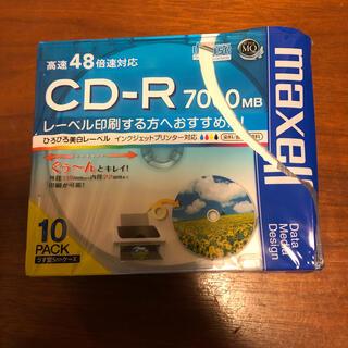 マクセル(maxell)のマクセル PC DATA用CD-R 【10枚入】 (PC周辺機器)