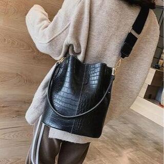 おしゃれ ショルダーバッグ 上質 上品トートバッグ 鞄 高品質軽量 大容量2wa(ショルダーバッグ)