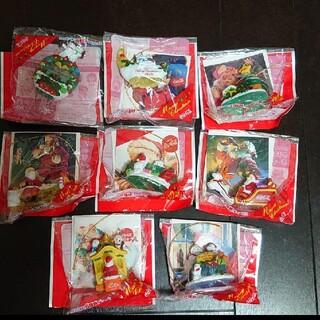 コカコーラ(コカ・コーラ)のコカ・コーラの光る クリスマスオーナメント 8種類(ノベルティグッズ)