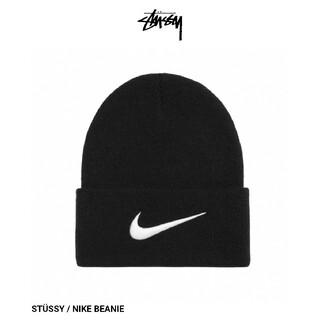 STUSSY - STÜSSY NIKE BEANIE ビーニー Black ブラック 黒