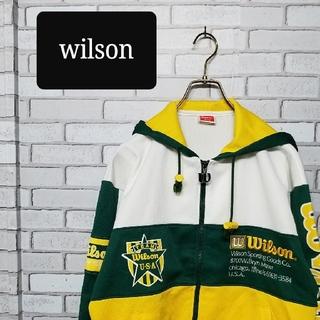 ウィルソン(wilson)のwilson ウィルソン ジャージ セットアップ 上下 90s ビンテージ レア(ジャージ)