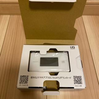 エヌイーシー(NEC)の新品未使用 WiMAX2+ Speed Wi-Fi NEXT WX06 ホワイト(その他)