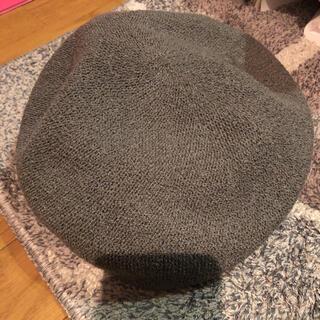 センスオブプレイスバイアーバンリサーチ(SENSE OF PLACE by URBAN RESEARCH)のSENSE OF PLACE ベレー帽 グレー センスオブプレイス(ハンチング/ベレー帽)