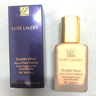 エスティローダー(Estee Lauder)の【新品未使用】エスティーローダー ダブルウェア サンド 30ml(ファンデーション)