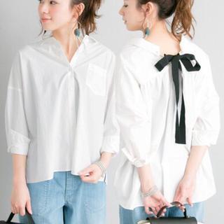 アーバンリサーチ(URBAN RESEARCH)の新品 アーバンリサーチ リボンシャツ(シャツ/ブラウス(長袖/七分))