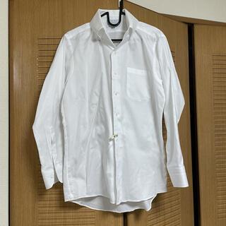 オリヒカ(ORIHICA)の【ORIHICA/プラチナライン】イタリアンカラーシャツ 白 M-80(シャツ)