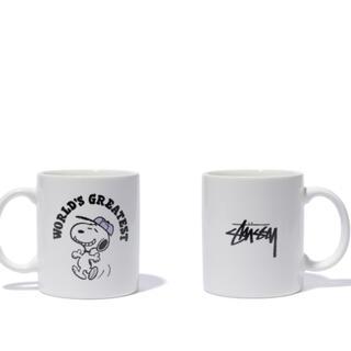 ステューシー(STUSSY)のスヌーピー  ステューシー  マグカップ(グラス/カップ)
