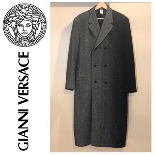 ジャンニヴェルサーチ(Gianni Versace)の【美品】GianniVersace ロングコート(ピーコート)