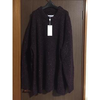 マルタンマルジェラ(Maison Martin Margiela)のL新品 メゾン マルジェラ オーバーサイズ ロング ニット セーター メンズ(ニット/セーター)
