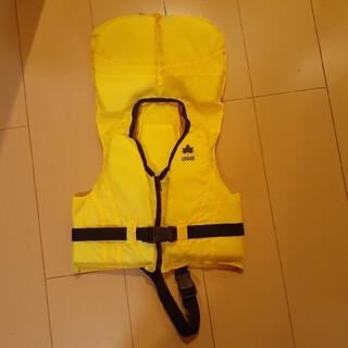 ロゴス(LOGOS)のロゴス フローティングベスト 黄色 キッズ 子供 ライフジャケット(マリン/スイミング)