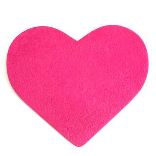 フランフラン(Francfranc)の【美品】フランフラン マウスパッド ピンク ハート かわいい おしゃれ シンプル(PC周辺機器)