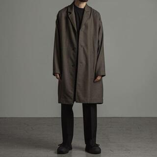 marka 20AW SHIRT COAT wool soft serge