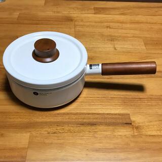 フジホーロー(富士ホーロー)の新品未使用品 富士ホーロー 片手鍋(調理道具/製菓道具)