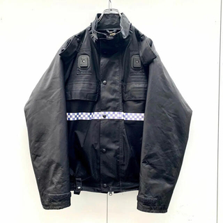 ストーンアイランド(STONE ISLAND)のUK police water proof jacket(ライナー付き(ミリタリージャケット)