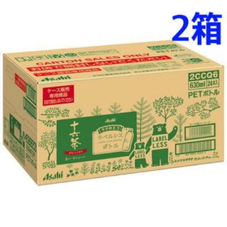 アサヒ(アサヒ)のアサヒ 十六茶 ラベルレスボトル(630ml*24本*2箱)(茶)