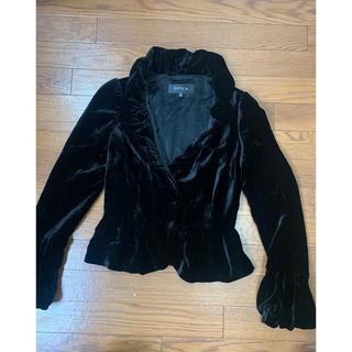エポカ(EPOCA)のエポカ EPOCA スーツ 光沢 黒 絹 シルク(テーラードジャケット)
