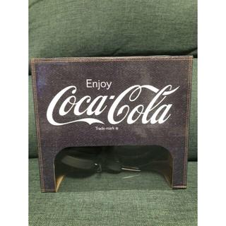 コカコーラ(コカ・コーラ)の送料込♪コカ・コーラ ヘッドフォン6 デニムver♪(ヘッドフォン/イヤフォン)
