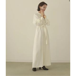 pintack shirts onepiece(ロングワンピース/マキシワンピース)