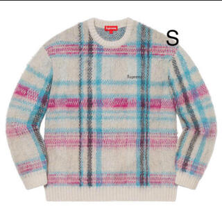 シュプリーム(Supreme)のsupreme Brushed Plaid Sweater  S(ニット/セーター)