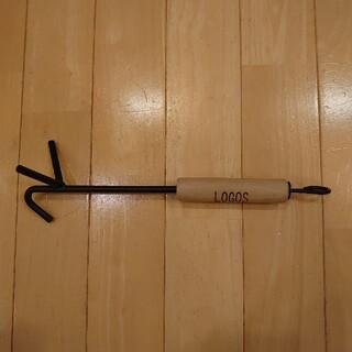 ロゴス(LOGOS)のロゴス ウッドグリップリフター(調理器具)