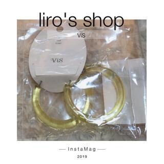 ヴィス(ViS)のVIS♡ クリアフープピアス(ピアス)