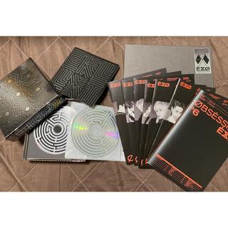 エクソ(EXO)のEXO / Overdose・OBSESSION  CD3枚セット(K-POP/アジア)