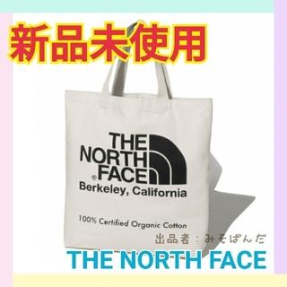 THE NORTH FACE - 【新品未使用】ノースフェイス オーガニックコットントート ブラック