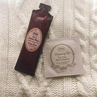 サボン(SABON)のSABON サボン 試供品 ヘアマスクとクレンジングオイル(ヘアケア)