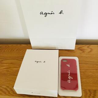 アニエスベー(agnes b.)のiPhoneケース agnes b.  iPhone6S・7・8 新品 赤(iPhoneケース)