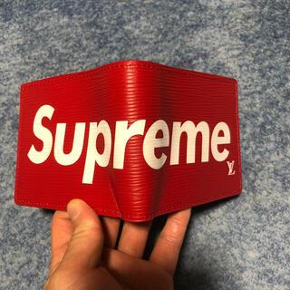 シュプリーム(Supreme)のsupreme louis vuitton(折り財布)