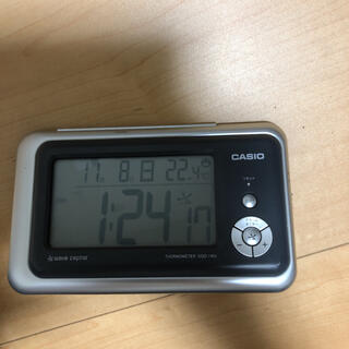 カシオ(CASIO)のCASIO 電波時計 目覚まし時計(置時計)
