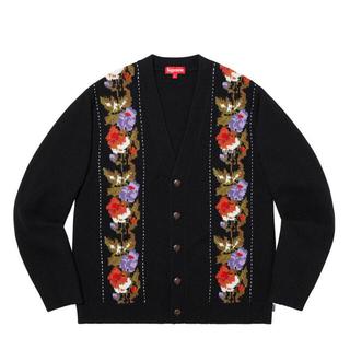 シュプリーム(Supreme)のSupreme 19AW Floral Stripe Cardigan Mサイズ(カーディガン)