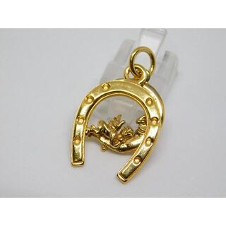 ライオンハート(LION HEART)の美品 ライオンハート ホースシュー ネックレス トップ ムーン エンジェル(ネックレス)