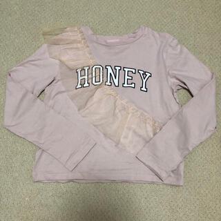 ハニーミーハニー(Honey mi Honey)のHONEY M I HONEY☆Tシャツ☆新品同様/スナイデル/ジルスチュアート(Tシャツ(長袖/七分))