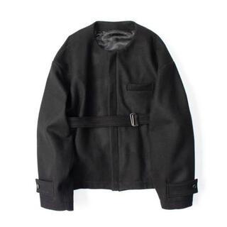 サンシー(SUNSEA)のstein no collar belted jacket(その他)
