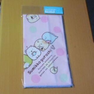 サンエックス(サンエックス)の新品♡すみっコぐらしランチナフキン(ピンク)(弁当用品)