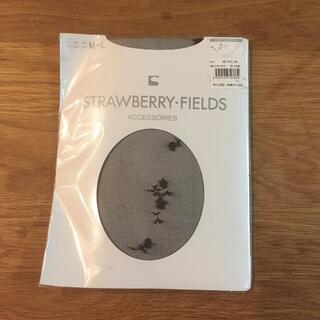 ストロベリーフィールズ(STRAWBERRY-FIELDS)のstrawberry fields 柄 タイツ(タイツ/ストッキング)
