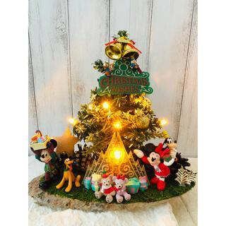 ディズニー(Disney)のクリスマス ツリー フェイクグリーン ディズニー ダッフィー ハンドメイド(その他)