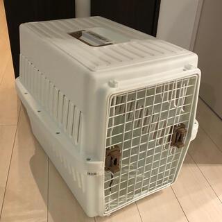 アイリスオーヤマ(アイリスオーヤマ)のアイリスオーヤマ エアトラベルキャリー 中型犬用 ブラウン 中型犬(かご/ケージ)