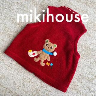 ミキハウス(mikihouse)のミキハウス オールドミキハウス ボア生地ベスト 110(ジャケット/上着)
