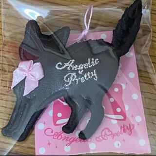 Angelic Pretty - Angelic Pretty Little Catクリップ ピンク