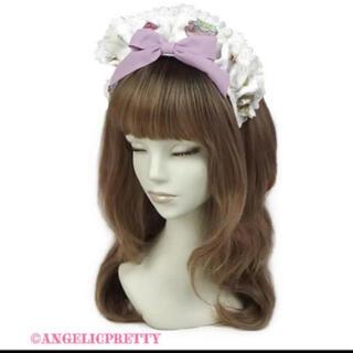 アンジェリックプリティー(Angelic Pretty)のRose Tea Gardenカチューシャ(カチューシャ)