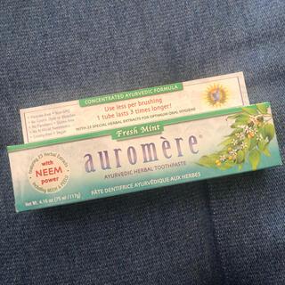 オーロメア(auromere)の新品未開封 Auromere オーロメア 歯磨き粉 フレッシュミント(歯磨き粉)
