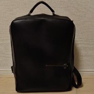 マザーハウス(MOTHERHOUSE)のKKK様専用 マザーハウス アンティークスクエアバックパック ブラック(バッグパック/リュック)