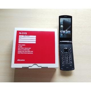 エヌイーシー(NEC)のdocomo 携帯電話  N-01G(携帯電話本体)