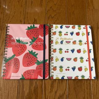 スミス(SMITH)のロルバーン いちご フルーツ 2冊セット(ノート/メモ帳/ふせん)